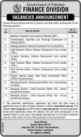 Jobs In Finance Division Government Of Pakistan