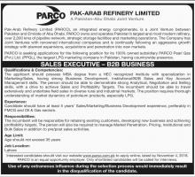 Jobs In Pak Arab Refinery Limited PARCO