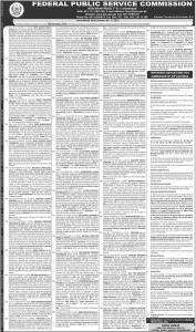 Jobs in Federal Public Service Commission FPSC