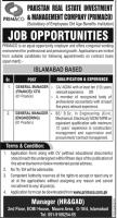 Jobs In Pakistan Real Estate Investment And Management Company