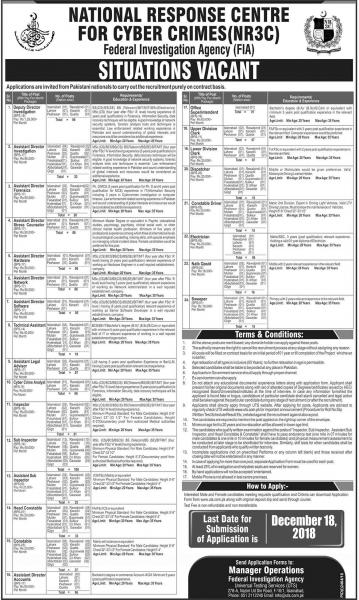 Jobs In National Response Centre For Cyber Crimes