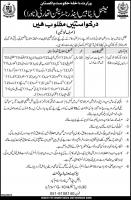 Jobs In NADRA Pakistan December 2018 - National Database And Registration Authority