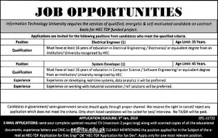Jobs In Information Technology University