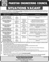 Jobs In Pakistan Engineering Company Limited - PEC Jobs 2019