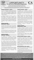 Jobs In The Institute Of Chartered Accountants Of Pakistan