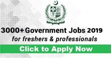 Pakistan Jobs 2019 - Government Jobs 2019 - Jobs In Pakistan 2019