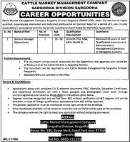 Jobs In Cattle Market Management Company