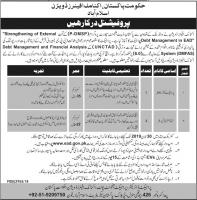 Jobs In Economic Affairs Division Govt Of Pakistan