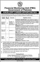 Jobs In Financial Monitoring Unit Govt Of Pakistan