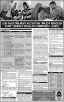 Join Pakistan Army As Captain/Major - Pakistan Army Jobs 2019