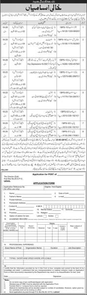 Jobs In Federal Government Department 2019