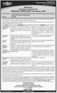 Jobs In Federal Board of Revenue Islamabad - FBR Jobs 2019