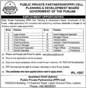 Jobs In Planning And Development Board 2019