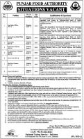 Jobs In Punjab Food Authority Govt Of Punjab Announced via NTS 2019