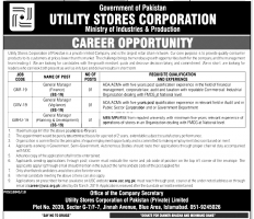 Jobs In Utility Stores Corporation 2019 - USC Jobs 2019