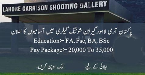 Jobs In Garrison Shooting Gallery - Army Jobs 2019