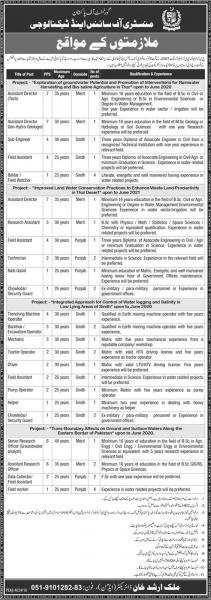 Jobs Ministry Of Science And Technology 2019
