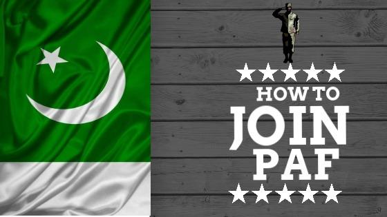 Pakistan Air Force Joining Procedure  - Joinpaf.gov.pk After Matric