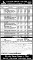 Jobs In Punjab Information Technology Board (PITB) Jobs 2019 Vacancies Advertisement Latest - Apply