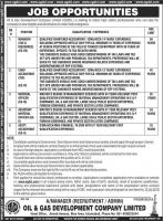 NEW Jobs in OGDCL 2019 - Jobs In Oil And Gas Development Company
