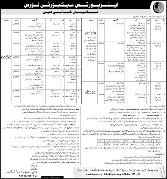 Latest ASF Jobs 2019 - New Jobs In Airport Security Force -  ASF Jobs Application Form