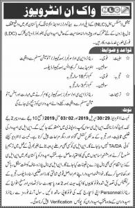 Jobs In National Logistics Cell NLC 21 Apr 2019