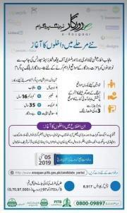 E-Rozgaar Training Program 2019 - 6th batch | Earn Rs 80K Per Month