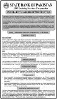 New Jobs In State Bank Of Pakistan 2019 - SBP Jobs April 2019