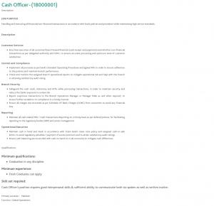HBL Jobs 2019 for 200+ Cash Officers (All Pakistan) (Job id 23602) | Jobs in Pakistan