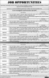 Jobs In Information Technology University - ITU Jobs May 2019