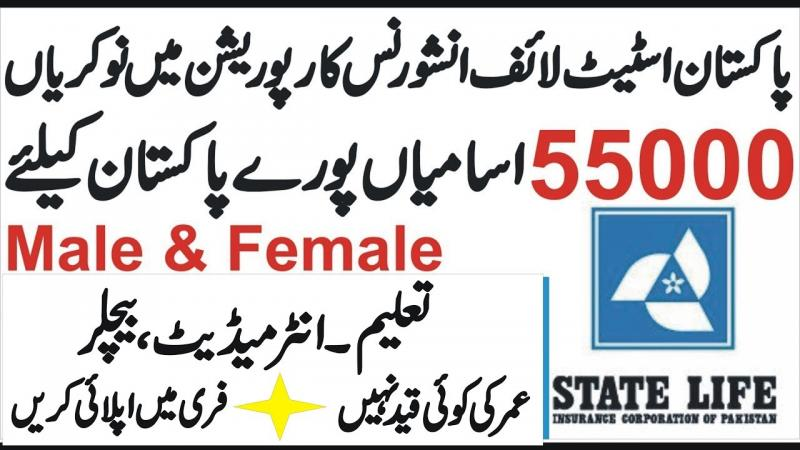 Sales Manager & Representatives Jobs At State Life Insurance July 2019
