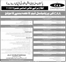 Opportunity To Become Part Of CAA's Professional Team