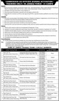 Pakistan army Jobs in Janbaz Force 2019