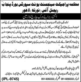 Sports Board Punjab Lahore Jobs October 2019
