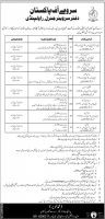 Survey Of Pakistan 480+ Jobs 2019 - Latest Ad - Download Application Form