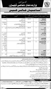 Jobs in Ministry of Defense November 2019