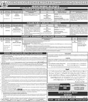 Medical Officers Jobs By PPSC Advertisement No. 39/2019 - Punjab Public Service Commission