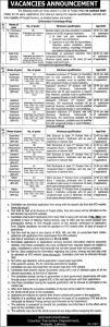CTD Punjab Police Jobs 2019 - New Advertisement - NTS form Download