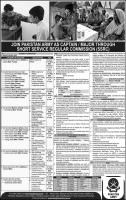 Join Pakistan Army As Captain / Major Through (SSRC) Short Service Regular Commission 2020