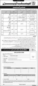 Government Of Pakistan Cabinet Division Jobs January 2020