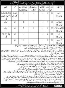 Revenue Department Jobs For Driver, Naib Qasid & Other Vacancies 2020