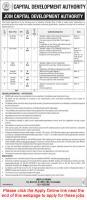 Capital Development Authority (CDA) Jobs January 2020