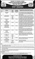 Federal Govt Employees Housing Authority Jobs January 2020 By NTS
