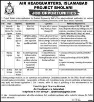 Air Headquarters Islamabad Jobs March 2020