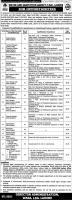 jobs In Water And Sanitation Agency (LDA), Lahore 2020