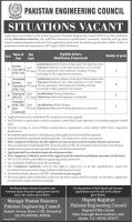 PEC Jobs 2020 - Pakistan Engineering Council Apply Now