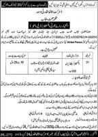 Recruitment Of 100 Vaccinators In Distrcit Health Auhtority Lahore
