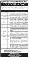 Pakistan Engineering Council www.pec.gov.pk Jobs Apply Online