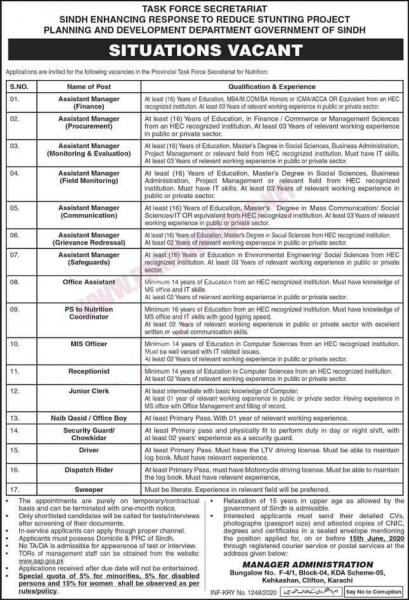 Planning and Development Department Jobs May 2020