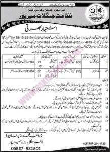 Forest Department Mirpur Jobs May 2020